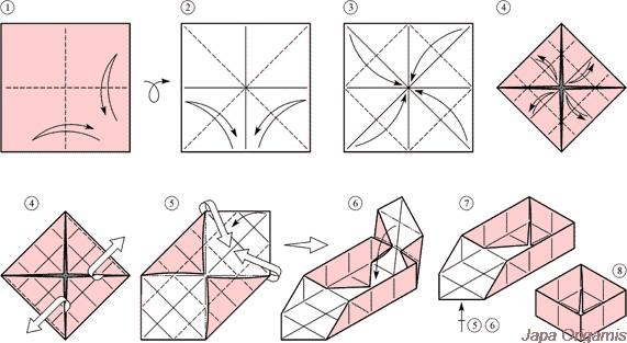 Сделать оригами своими руками на новый год