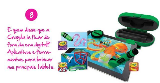 Aplicativos para brincar nos principais tablets