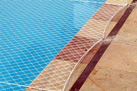 Redes de proteção em piscina