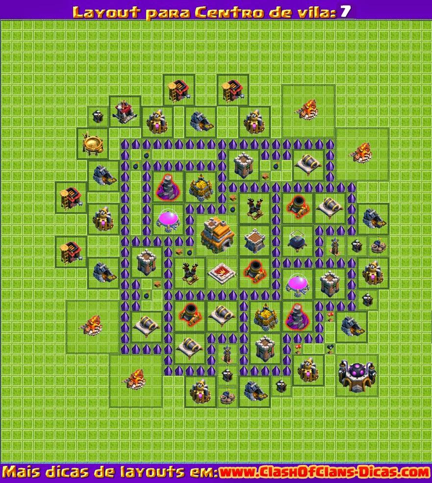 uploaddeimagens com br layout defesa cv 7 clash of clans jpg