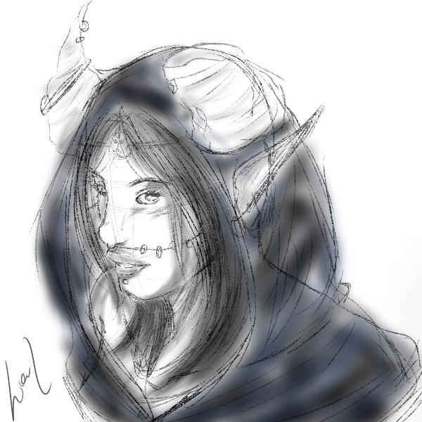 Desenhos e Rabiscos Witch