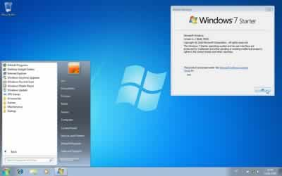 Windows 7 Starter