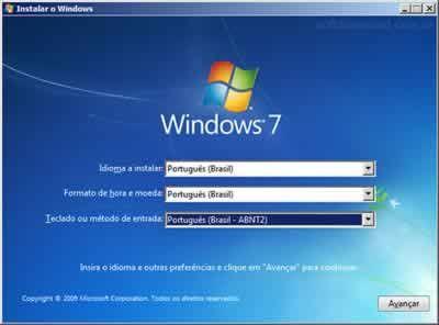 Windows 7 Instalação