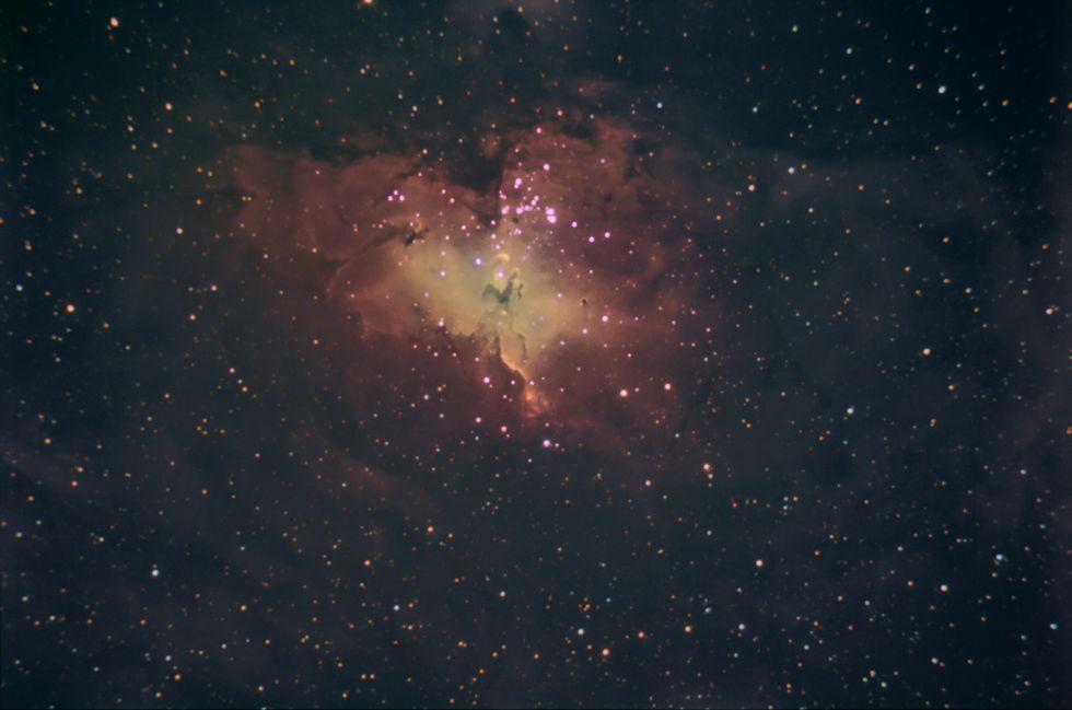 M16 Nebulosa da Águia - QHY8L M16-2