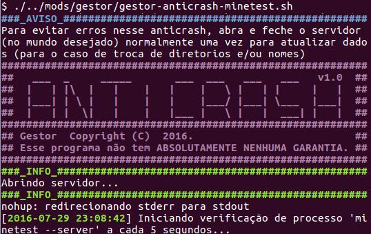[Mod] Gestor de servidores [gestor][v1.1] Amostra_anticrash