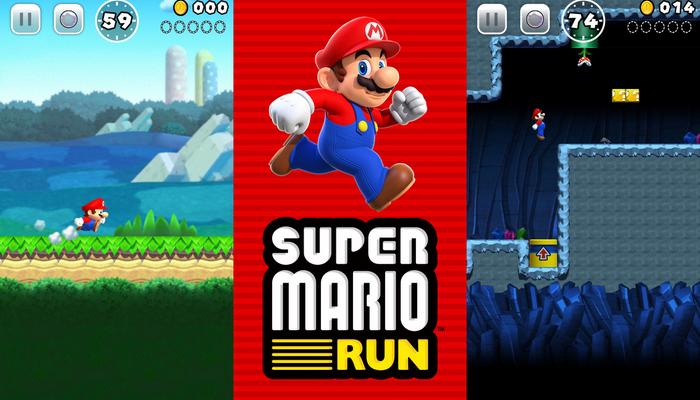Agora podemos conduzir o Mario em nossos Smartphones