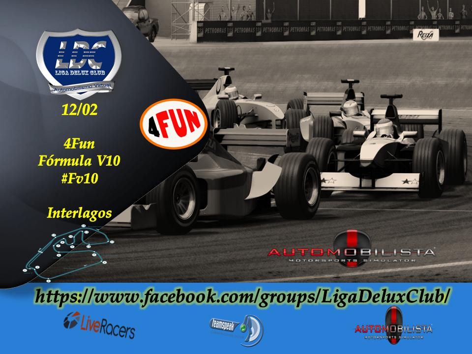 Liga Delux Club - Evento 4Fun - 12/02/16 - #Fórmula V10 - Interlagos Received_933890723412949