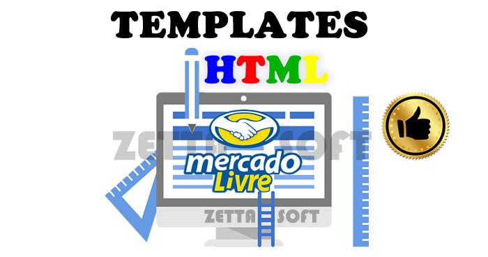 70 Templates HTML Mercado Livre