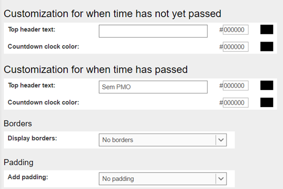 Como instalar um contador de dias TD4