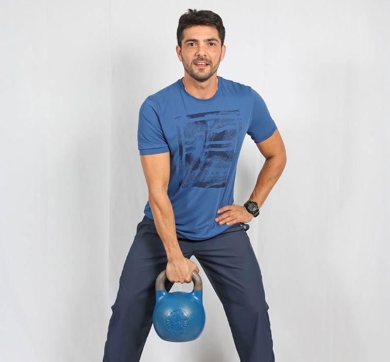 Personal trainer Marcell Wercklose (Foto: Portal AZ)