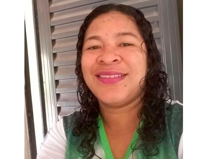 Adalgisa Gomes de Sousa Silva, líder comunitária no Parque Bom Futuro