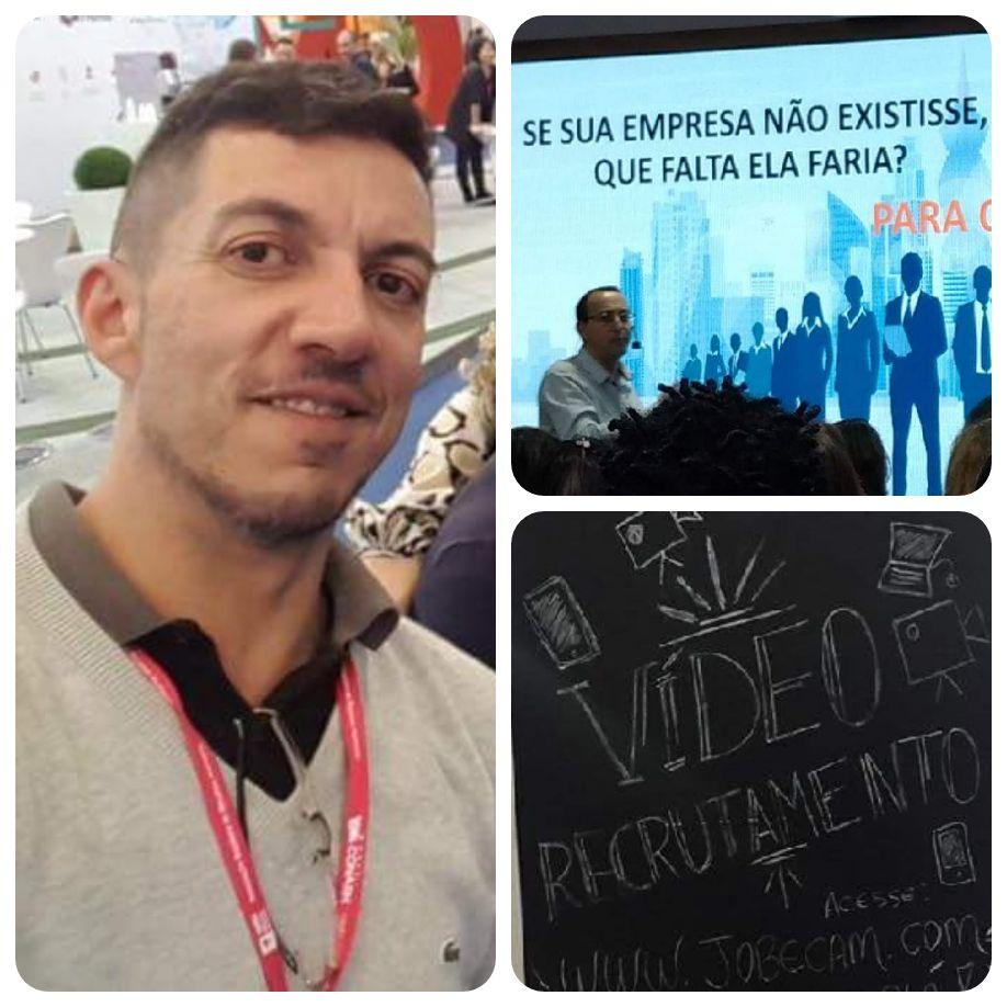 Prof. Márcio de Sousa Assis, do curso de MBA em Gestão Estratégica de Pessoas da USCS no CONARH