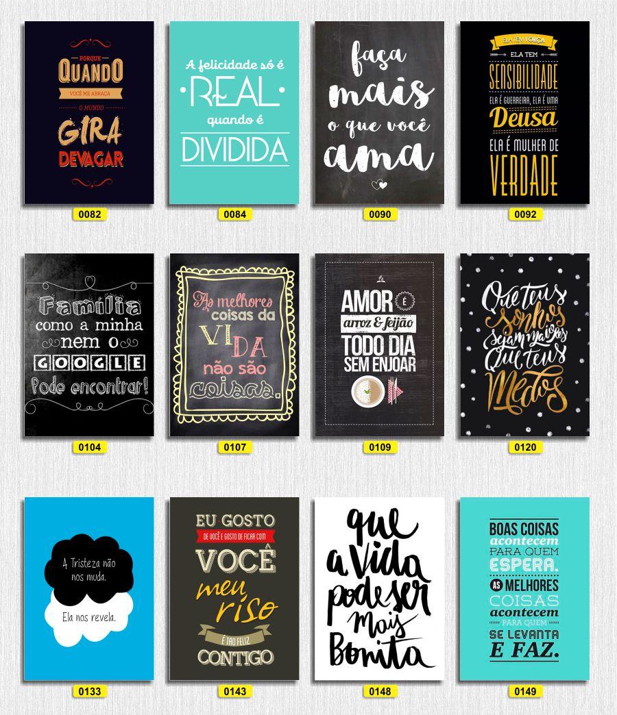 Placas Decorativas - Frases Divertidas E Motivacionais - Mdf em Rio de Janeiro