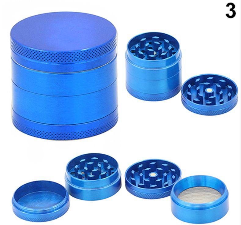 dichavador triturador 4 partes azul barril