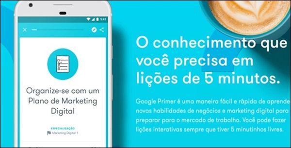 Conheça o Primer, app gratuito com lições sobre marketing e negócios