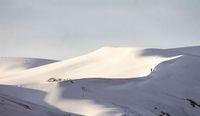 Capa Neve no deserto do Saara, algo quase impossível de acontecer