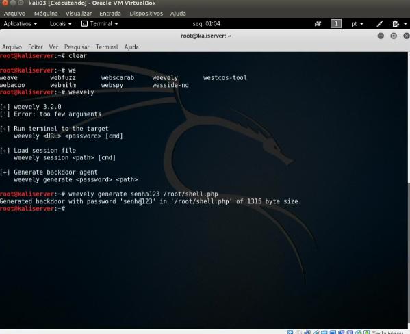 Tutorial WEBSHELLS - Vulnerabilidades Web - CaveiraTech Fórum