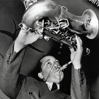 Lester Young e seu saxofone
