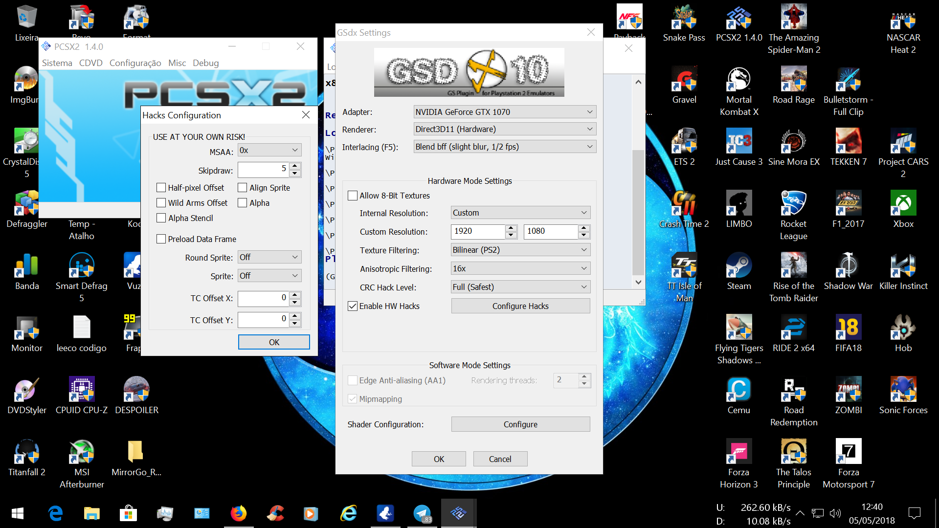 PCSX2 - Emulador de Playstation 2 - [ TÓPICO DEDICADO