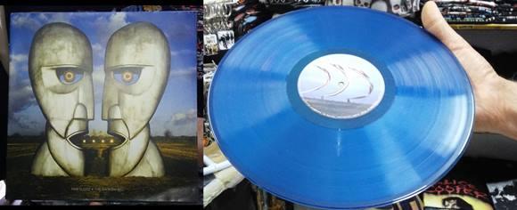 Disco azul do Pink Floyd. Preciosidade