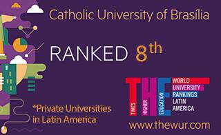 UCB entre as melhores Universidades da América Latina
