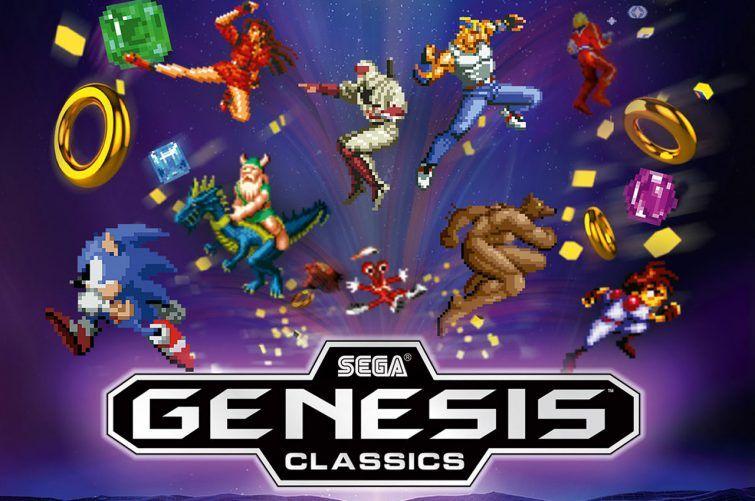 Sega Genesis Classics para o nintendo switch