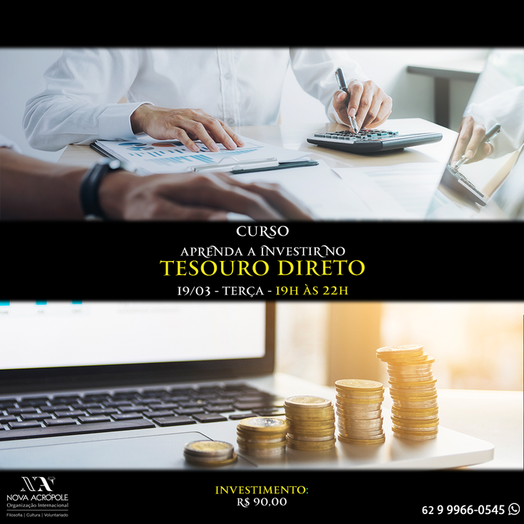 Workshop: Apenda a investir no Tesouro Direto