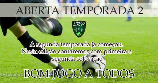 Imagem COMEÇA A SEGUNDA TEMPORADA