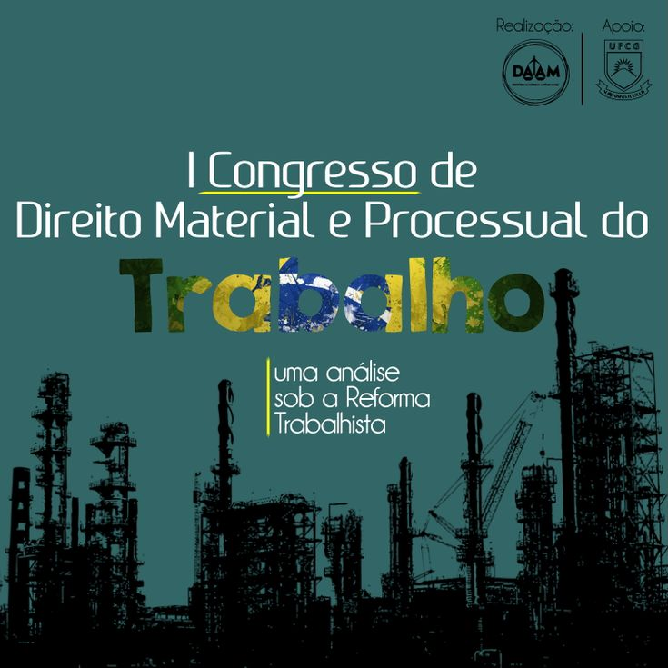 Logo oficial congressotrabalho 1