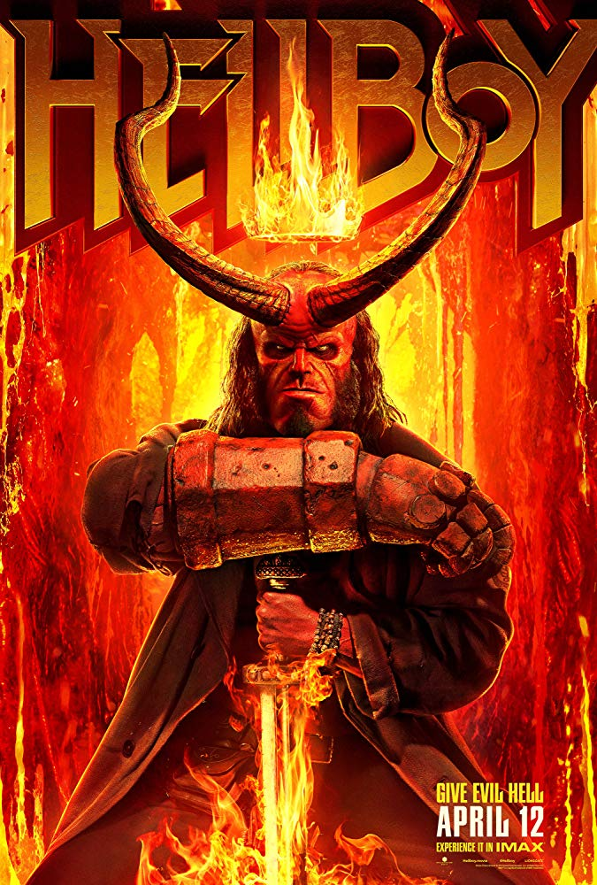 Hellboy (2019) - HDCAM 720p Legendado | MEGA