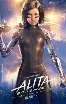 Alita – Anjo de Combate (2019) - WEB-DL 720P E 1080P Dual Áudio / Dublado | MEGA