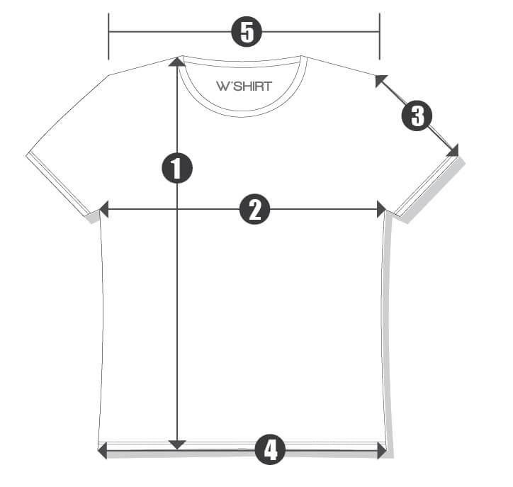 Orientações camiseta