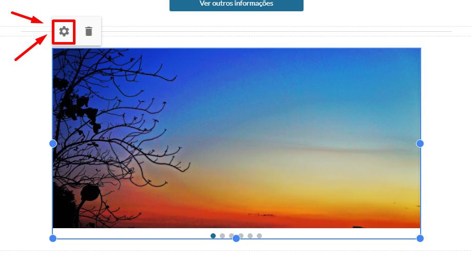 Carrossel de Fotos - Google Sites