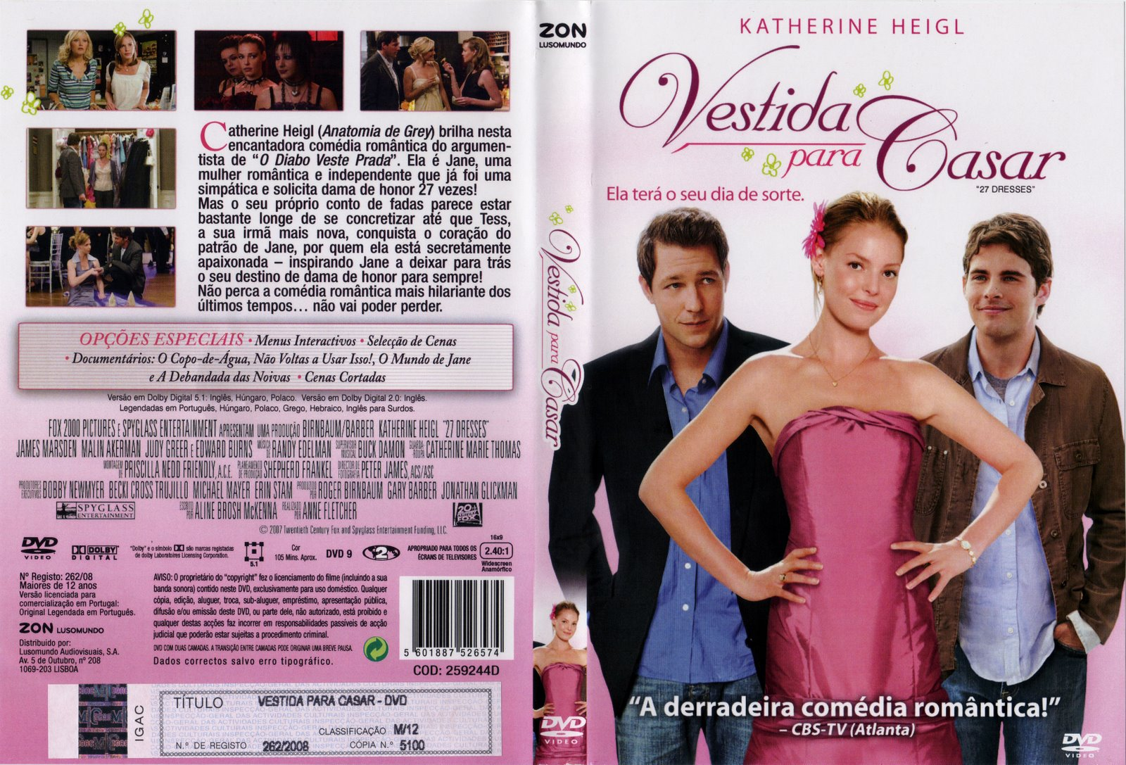 Vestida Para Casar (2008) – BDRip 720P E 1080P Dual Áudio – Download
