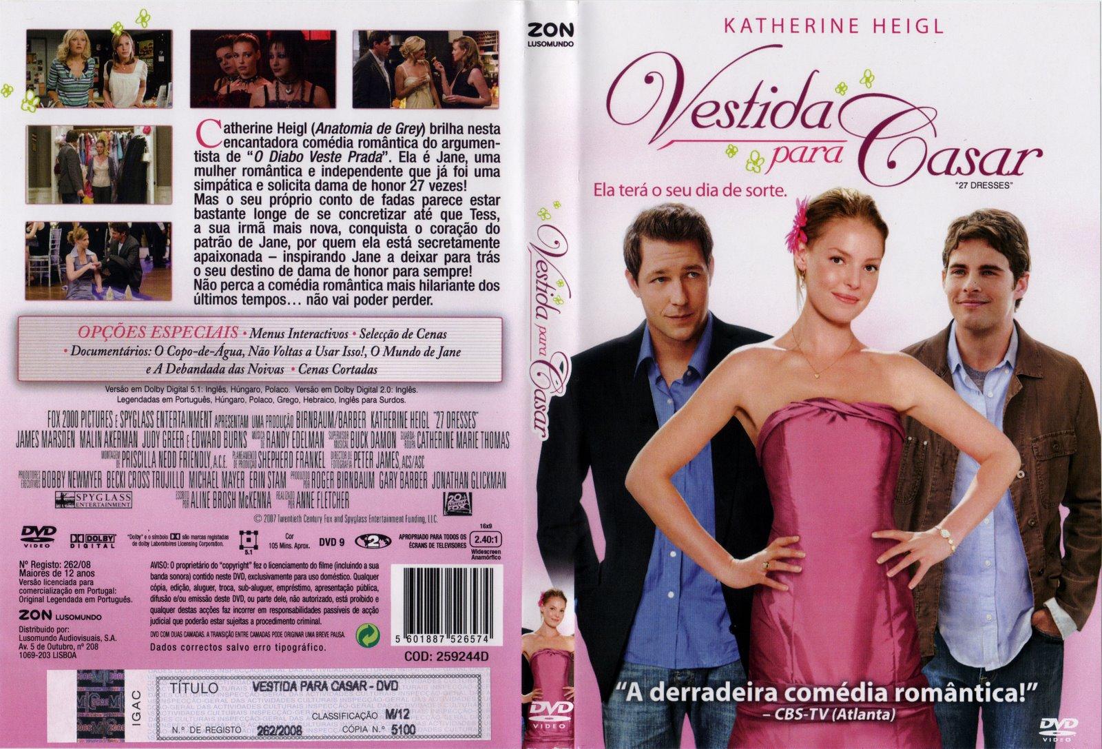Vestida Para Casar (2008) – BDRip 720P E 1080P Dual Áudio – Download