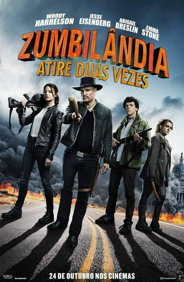 Zumbilândia: Atire Duas Vezes (2019) – HDCAM 720p Dublado – Download