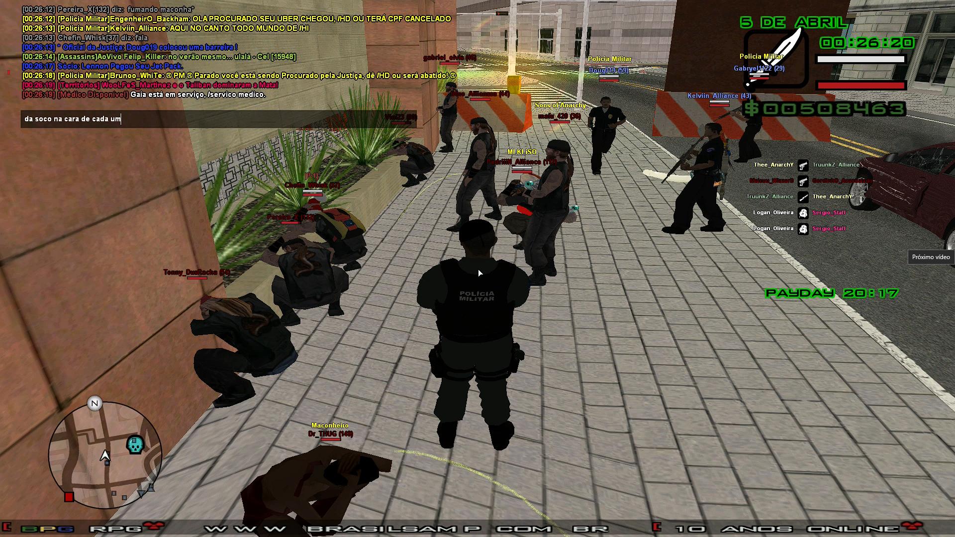 [04/04/2020]Policia Militar lider: Brunoo_WhiTe Sem_t%C3%ADtulo