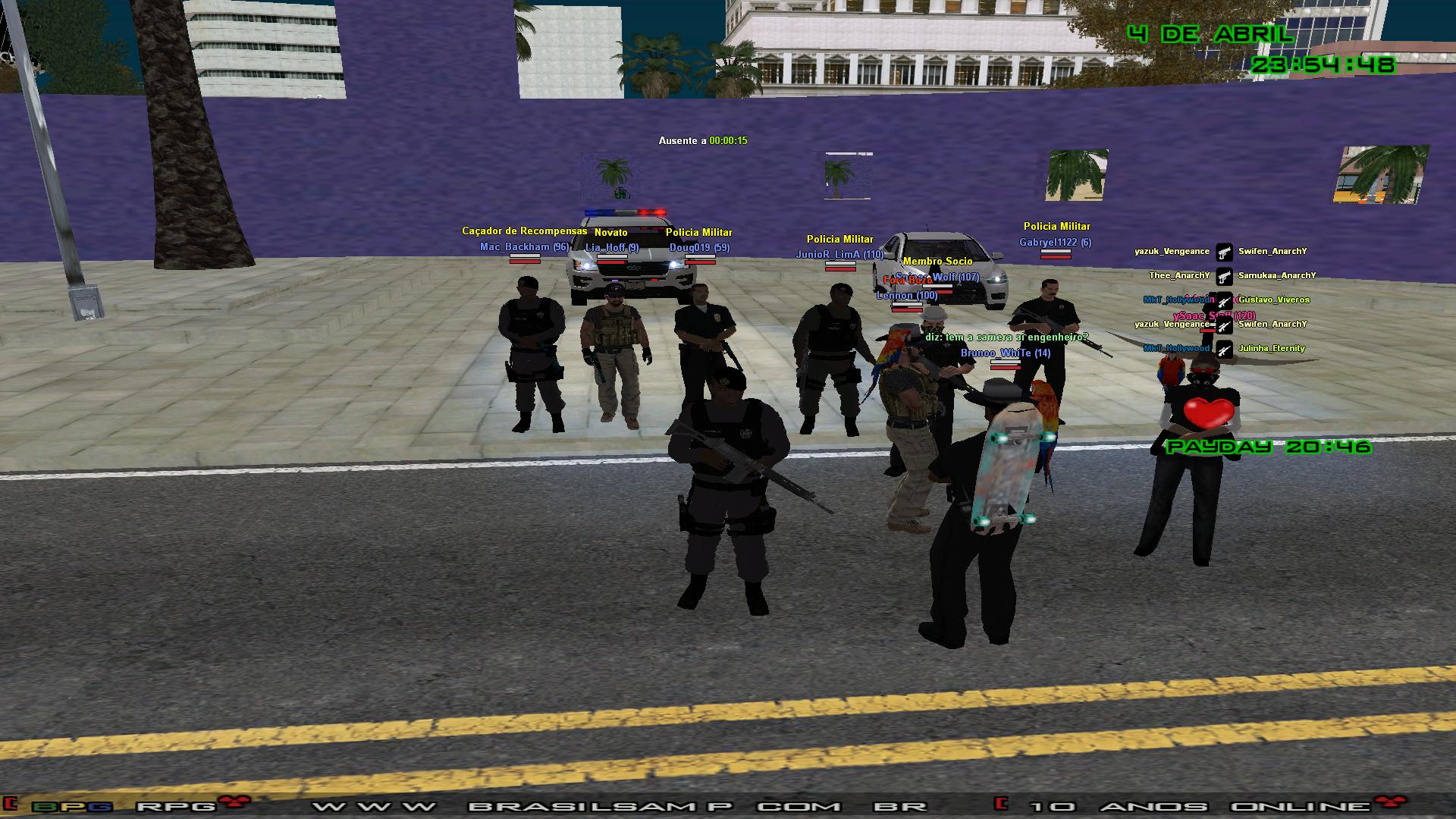 [04/04/2020]Policia Militar lider: Brunoo_WhiTe Sa-mp-015