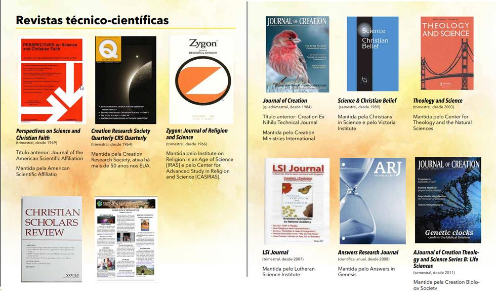 Revistas criacionistas