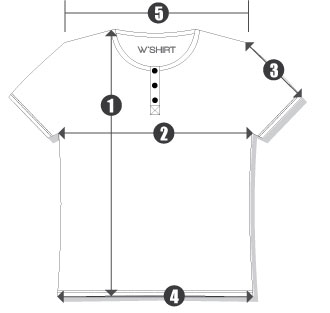 Orientações Camisetas