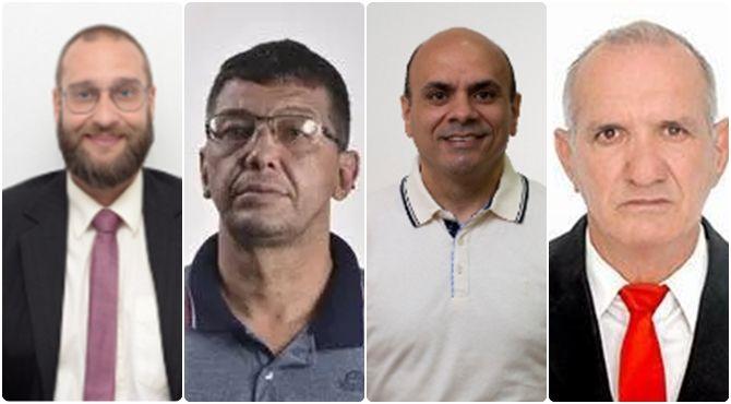 4 vereadores